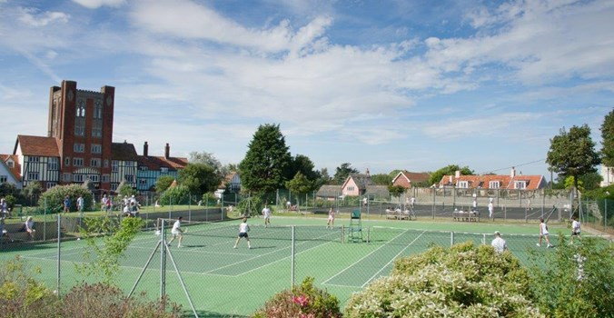 Tennis At Thorpeness Country Club Suffolk