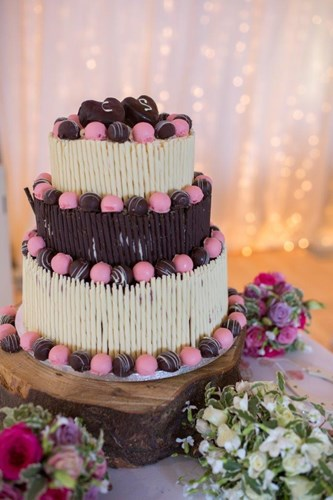 Chocolate Wedding Cake - Thorpeness Country Club