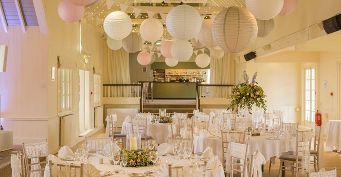 Thorpeness Country Club, venue set up