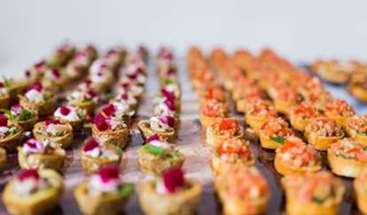 Thorpeness Country Club, canapes